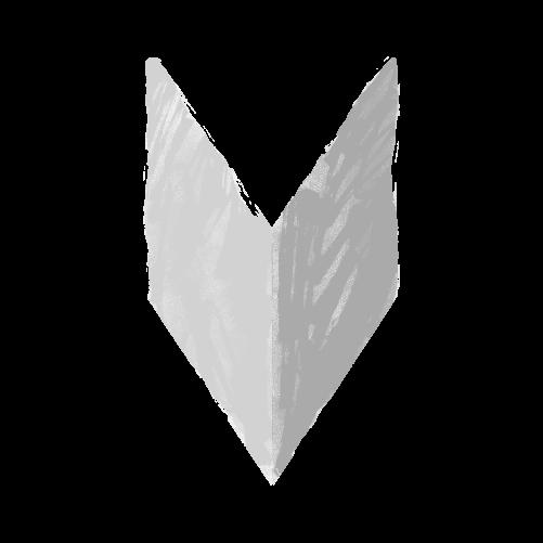 白黒初心者マークのイラスト17
