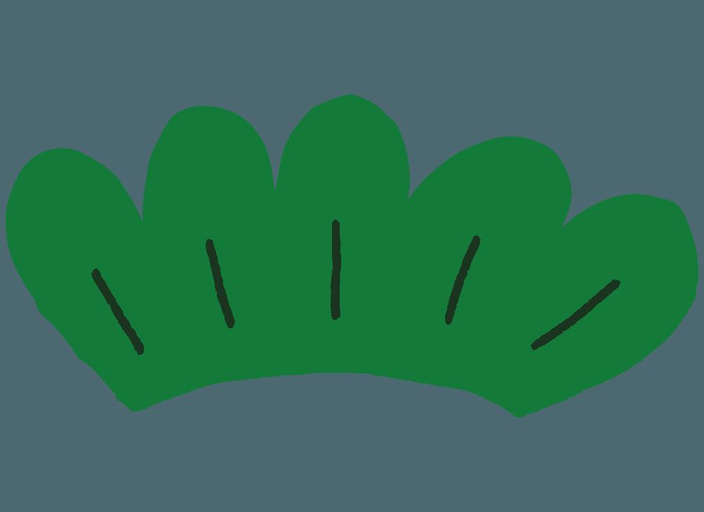 松の葉シンプルなイラスト