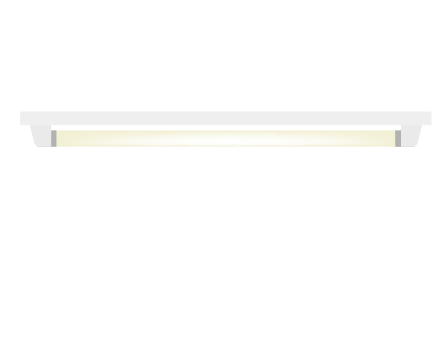 蛍光灯のイラスト