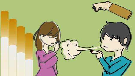 タバコのイラスト - 禁煙マークと喫煙者の無料素材