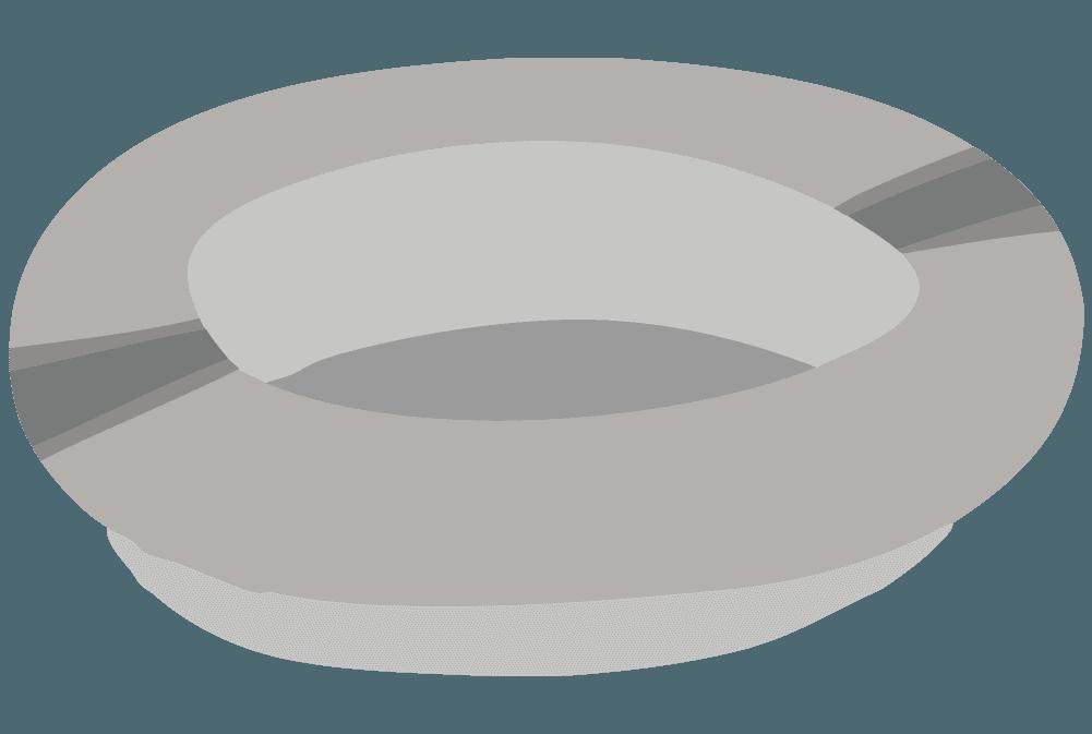 灰皿のイラスト