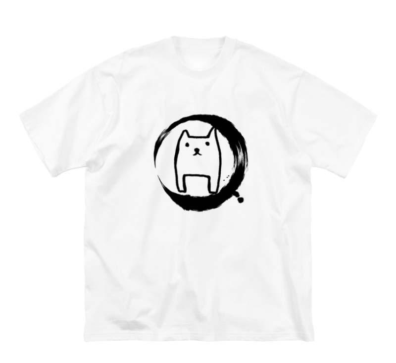 ただのいぬビッグシルエットTシャツ