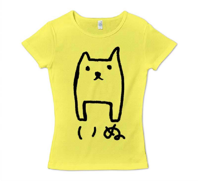 ただのいぬ レディースTシャツ