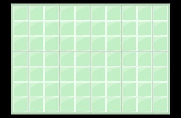 緑のタイル背景イラスト