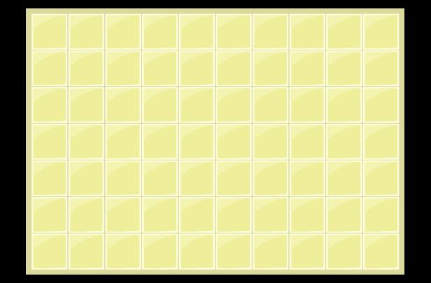 黄色のタイルの背景イラスト