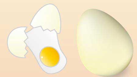卵のイラスト - 鶏卵・うずら玉子焼き料理の無料素材