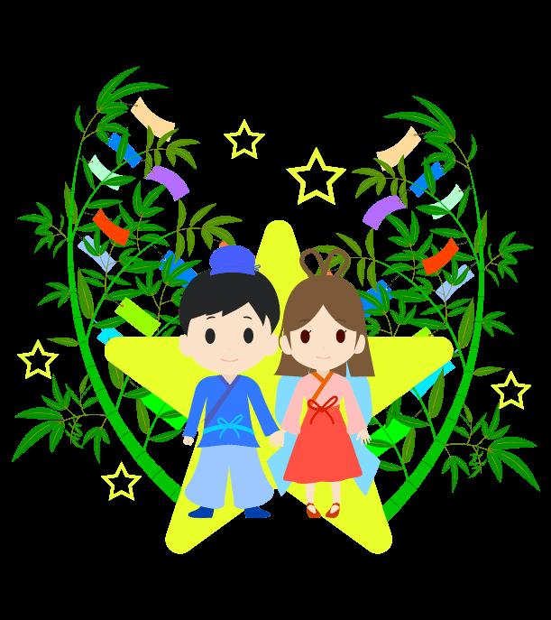 七夕の挿絵イラスト