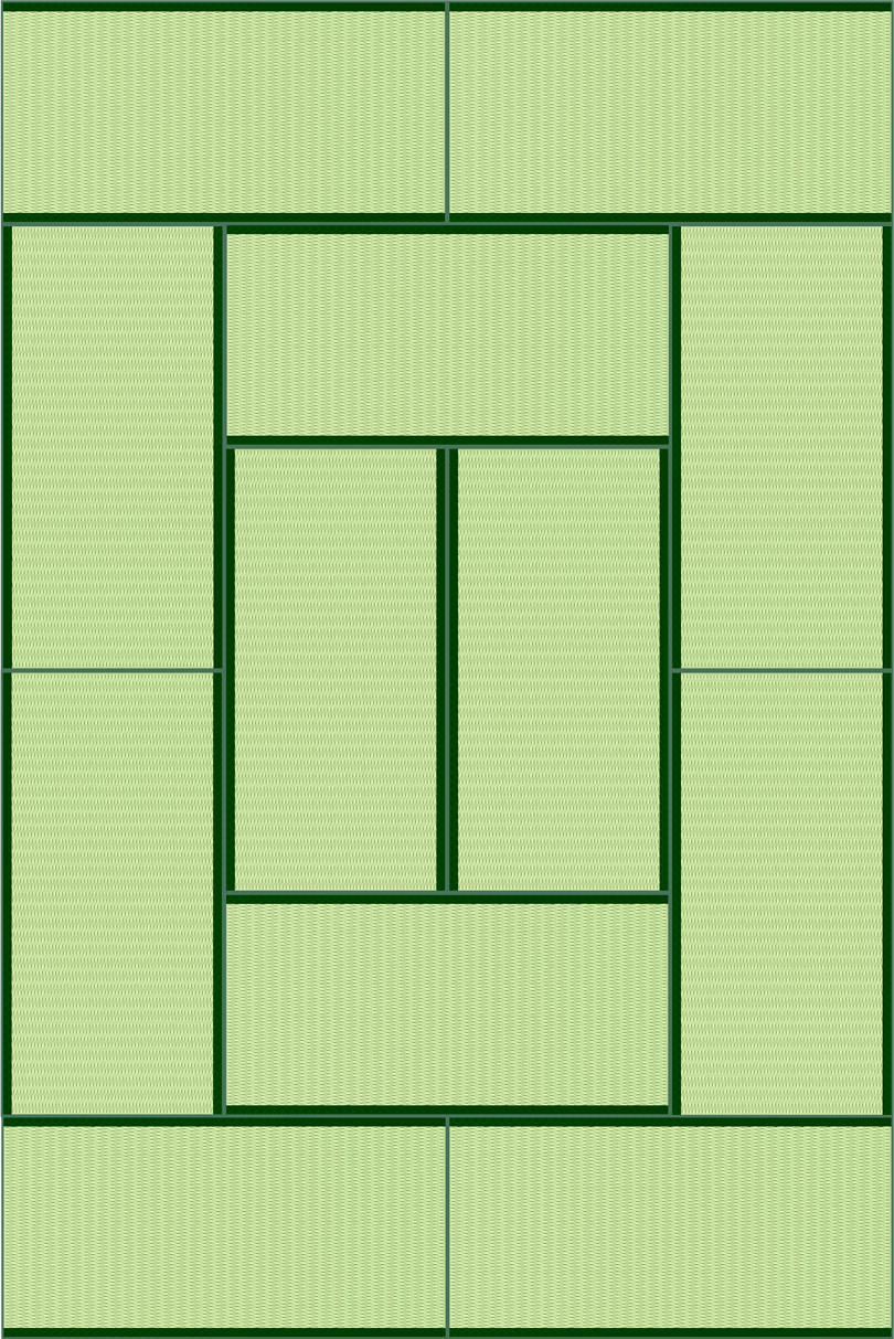 畳12帖のイラスト