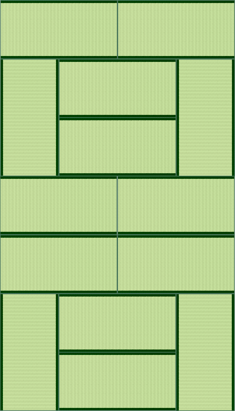 畳14帖のイラスト