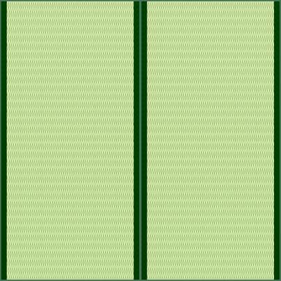 畳2帖のイラスト