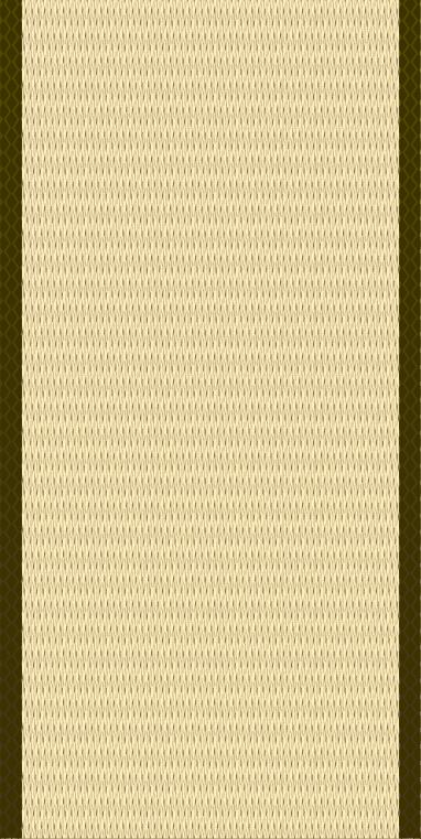 茶色っぽい畳(1帖)のイラスト