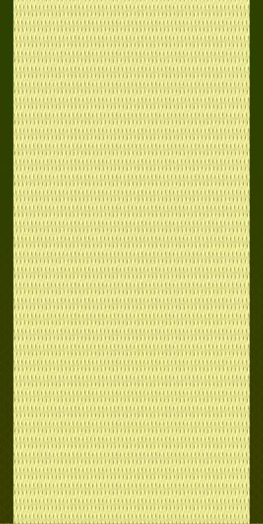 薄い緑の畳(1帖)のイラスト