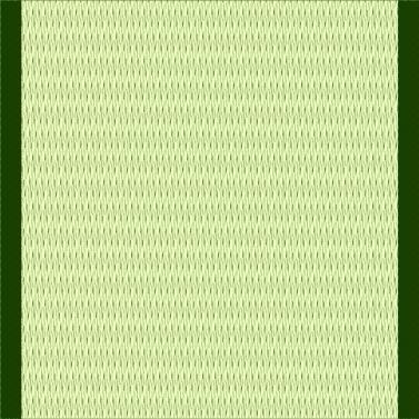 青っぽい畳(1帖)のイラスト