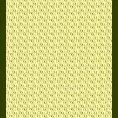 黄緑っぽい畳(1帖)のイラスト