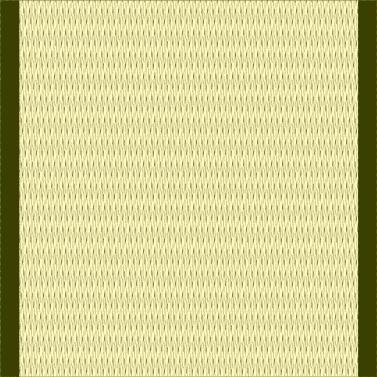 薄い緑の畳0.5帖)のイラスト