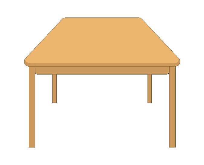 食卓テーブルのイラスト