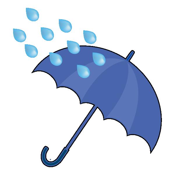 大雨のイラスト