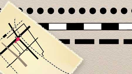 点線と路線とマップ