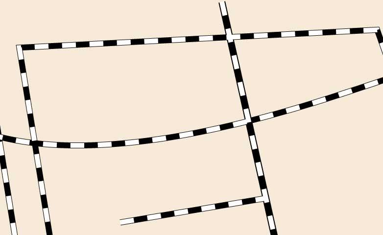 路線の点線のアピアランスをコピーした画像