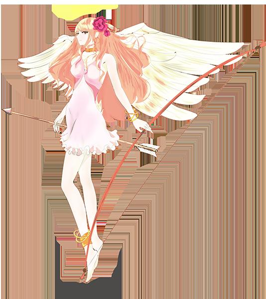 可愛い天使のイラスト