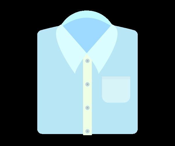父の日のワイシャツ小物飾りイラスト