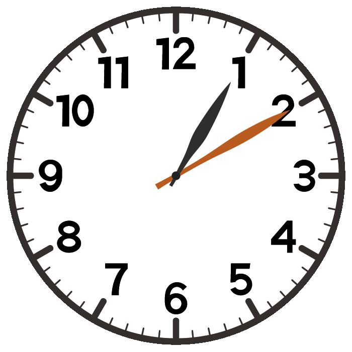 1時10分