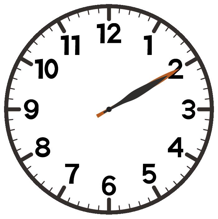 2時10分