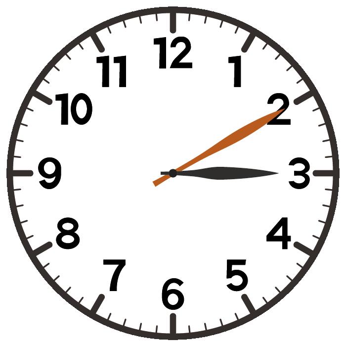 13時10分