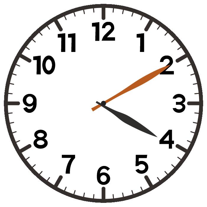 4時10分