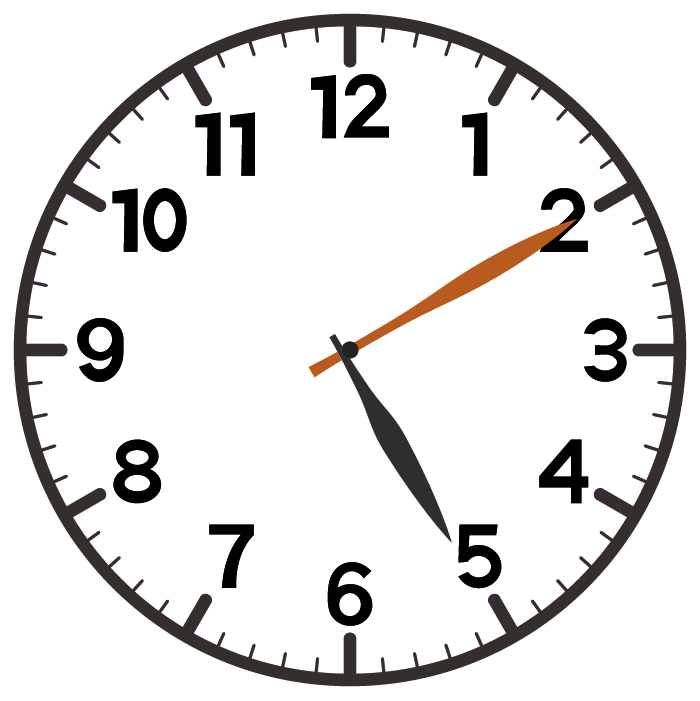 5時10分