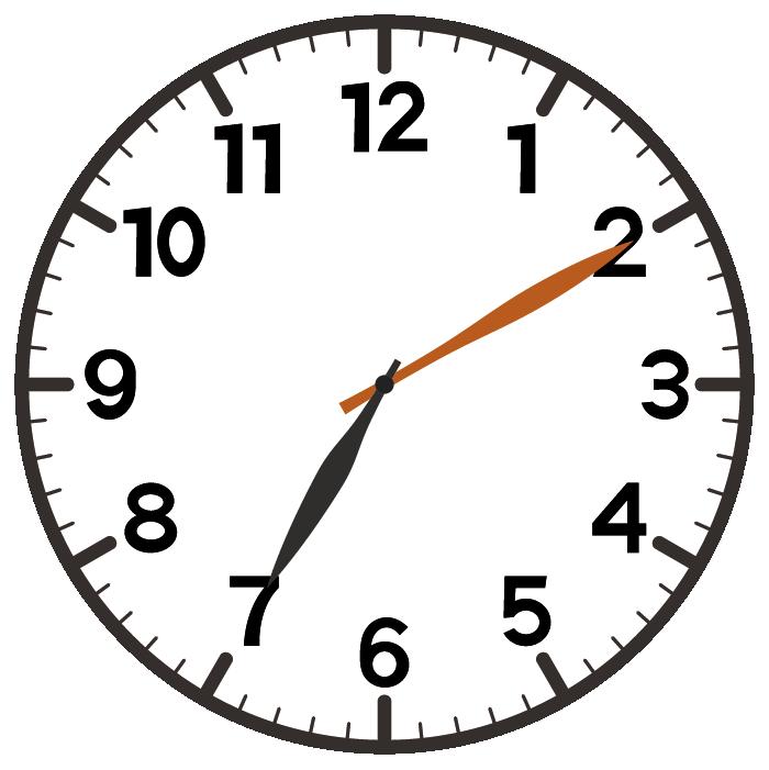 7時10分