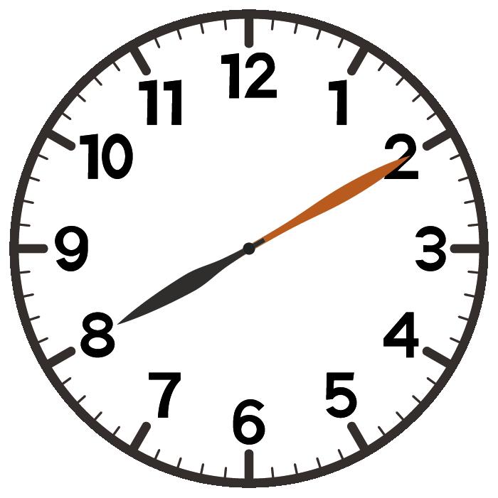 8時10分