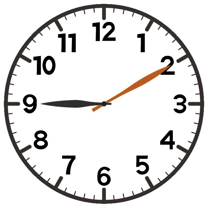 9時10分