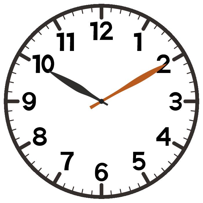 10時10分