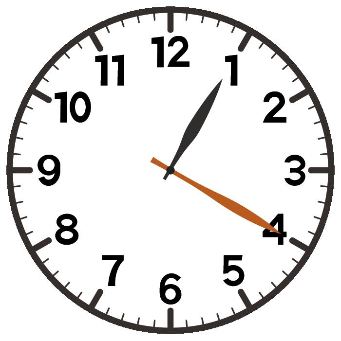 1時20分