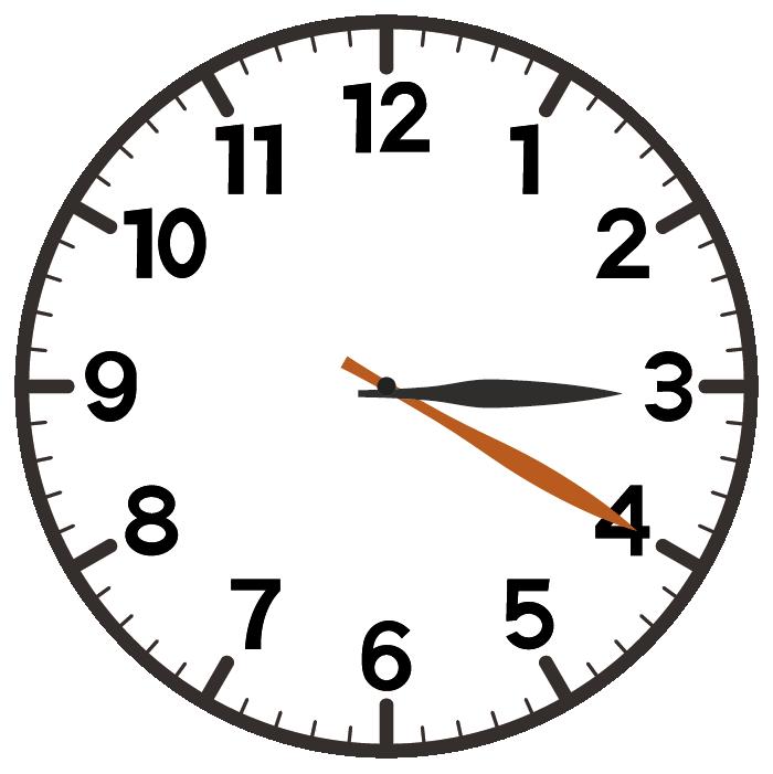 3時20分