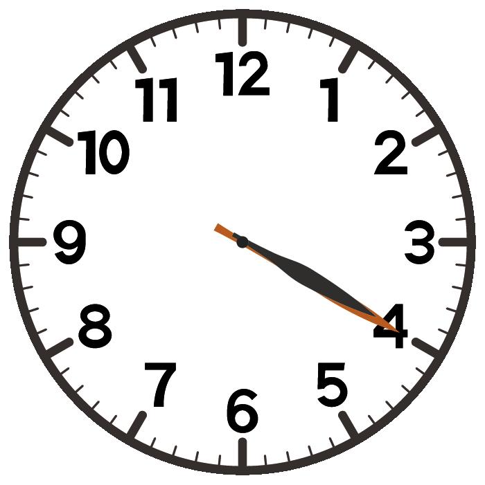 4時20分