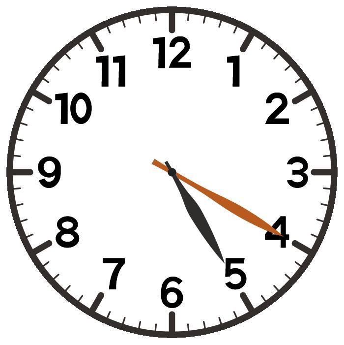 5時20分