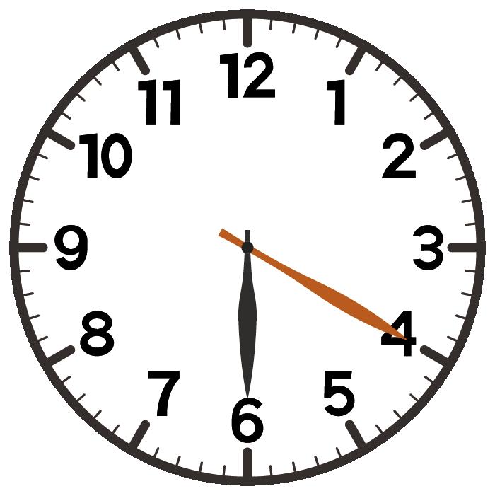 6時20分