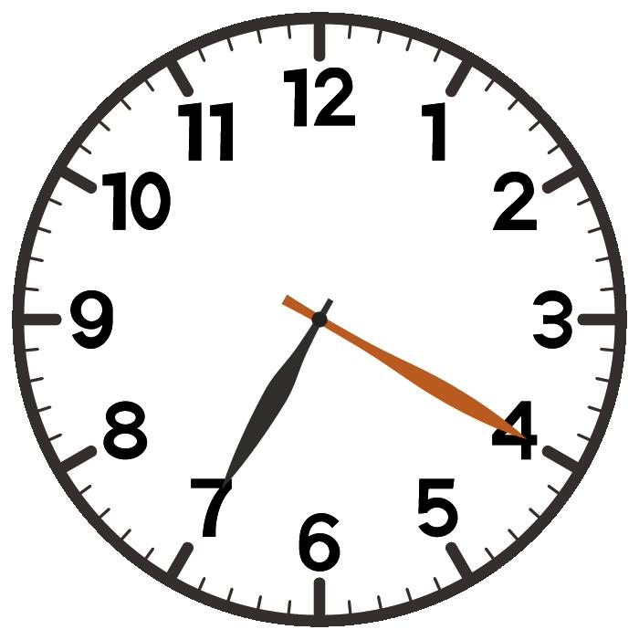 7時20分