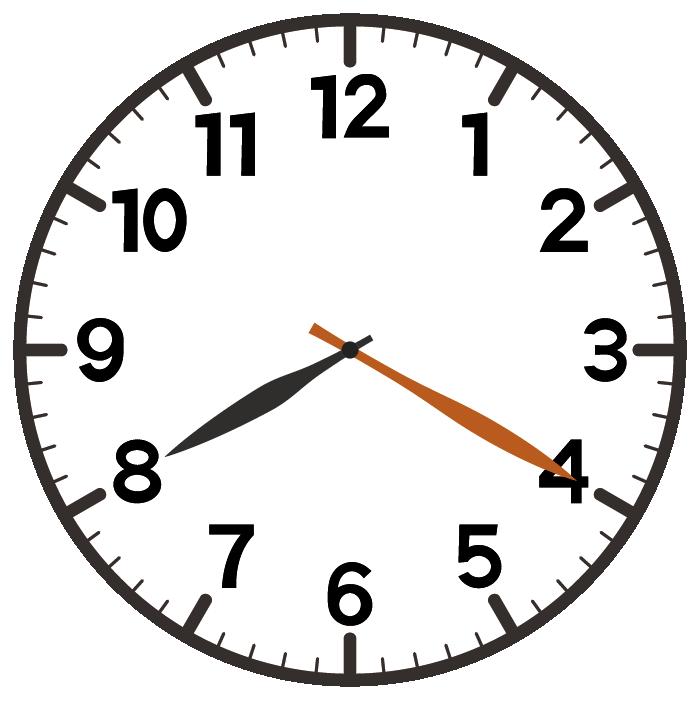 8時20分