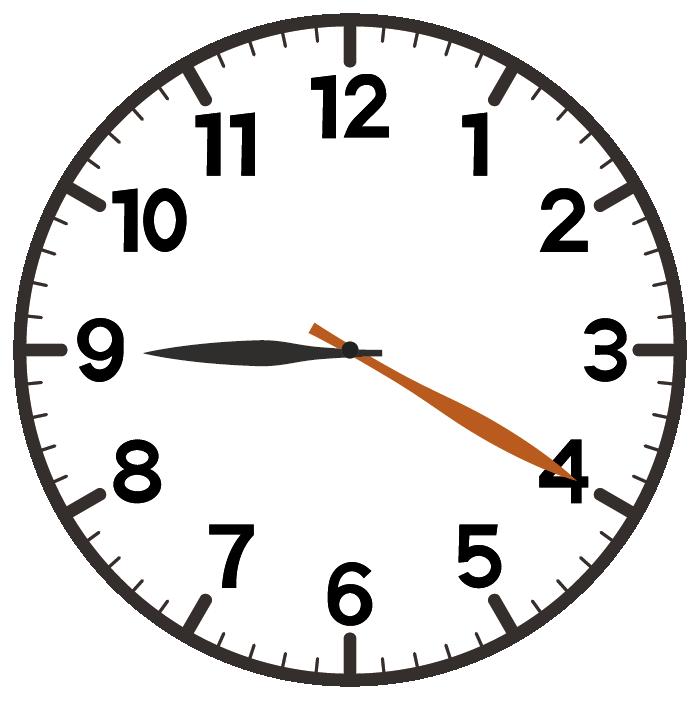 9時20分
