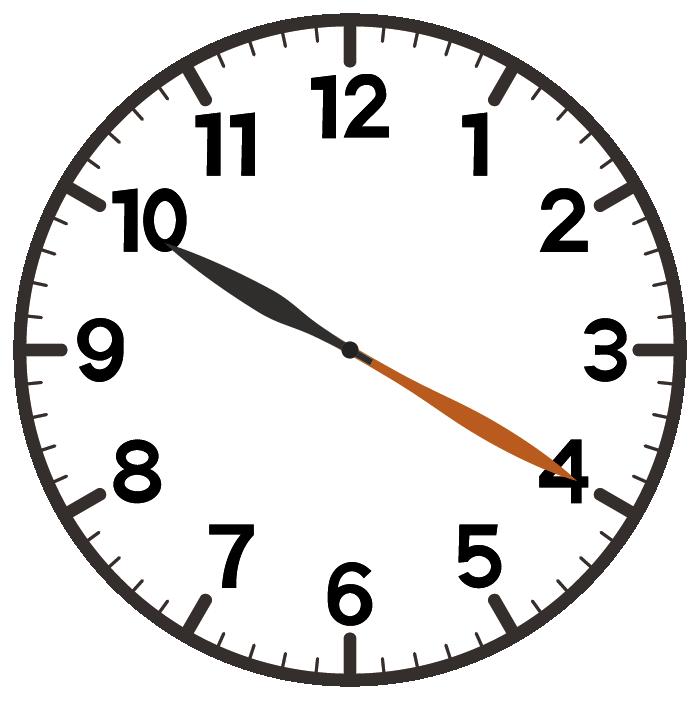10時20分