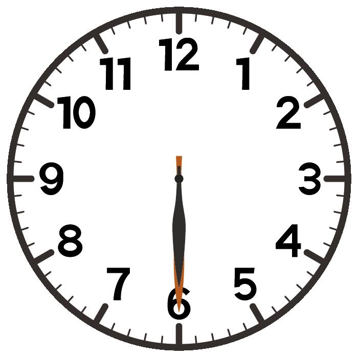 6時30分
