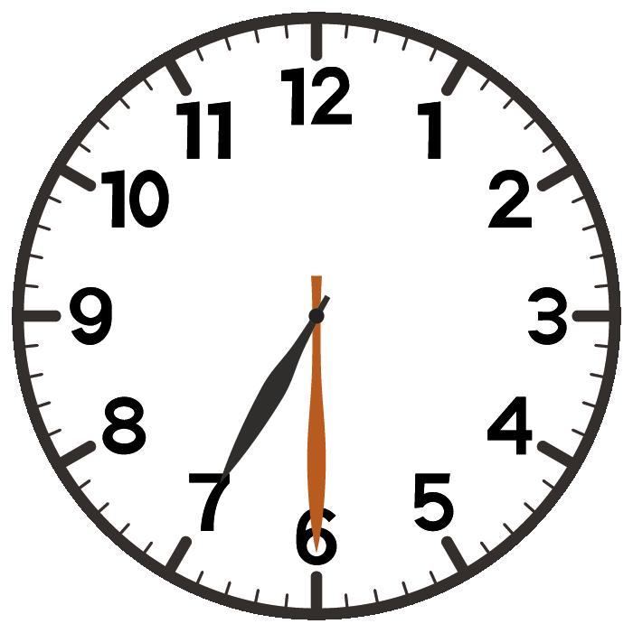 7時30分