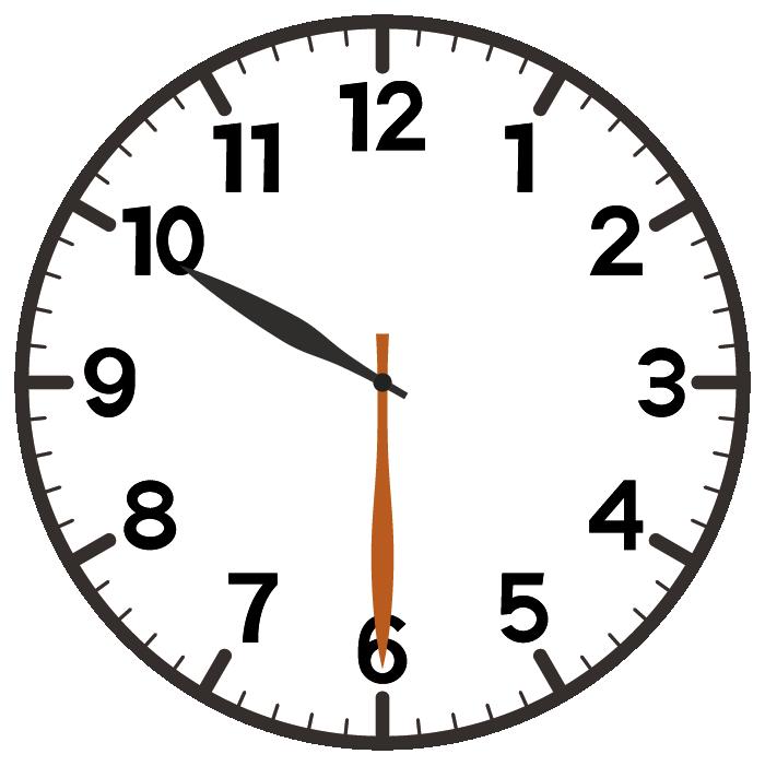 10時30分