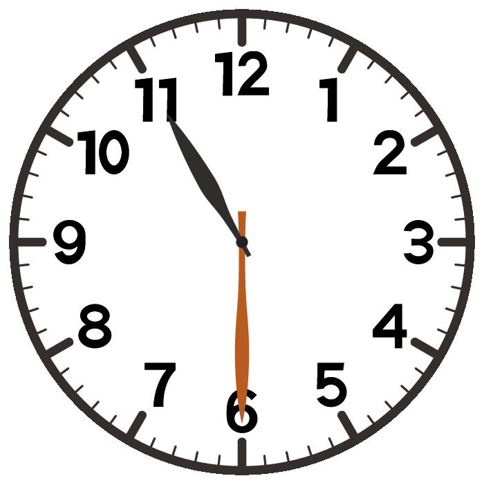 11時30分