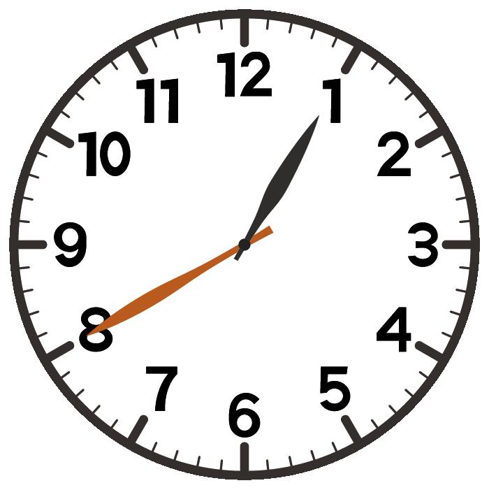 1時40分