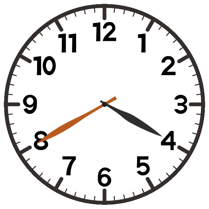 4時40分