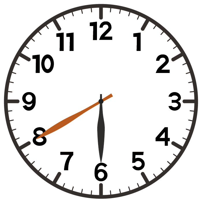 6時40分